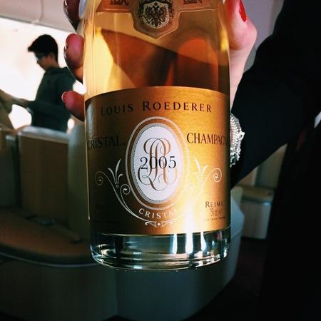 Louis Roederer Cristal Brut Champagne Chardonnay Pinot Noir Blend 2009