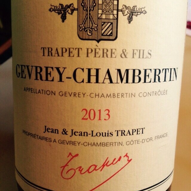 Gevrey-Chambertin Pinot Noir 2013
