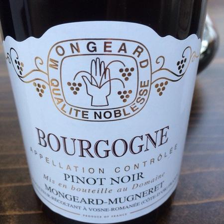 Mongeard-Mugneret Bourgogne Pinot Noir 2014