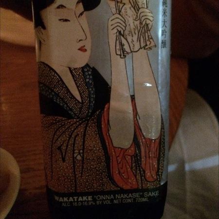 Oomuraya Shuzoba Co., Ltd.  Wakatake Onna Nakase Junmai Daiginjo NV (720ml)