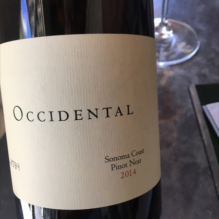 Occidental (Stephen Kistler) Sonoma Coast Pinot Noir 2013