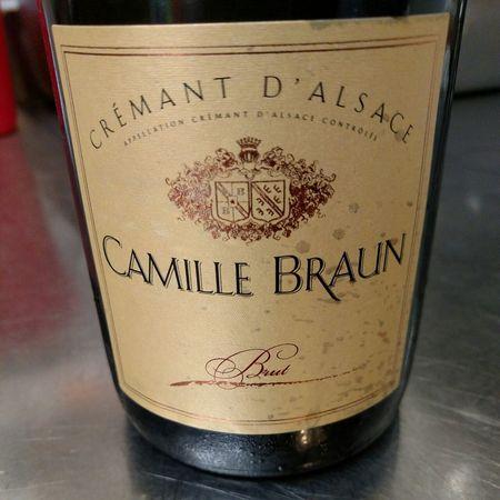 Camille Braun Brut Crémant d'Alsace NV