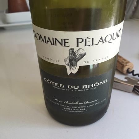 Domaine Pélaquié Côtes du Rhône Blanc  2014