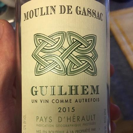 Daumas Gassac Moulin de Gassac Guilhem Pays d'Hérault Syrah Carignan Rosé  2017