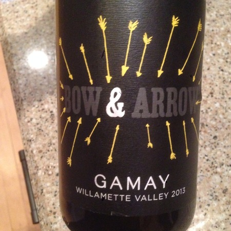 Bow and Arrow Willamette Valley Gamay  2015