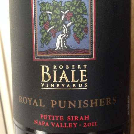 Robert Biale Vineyards Royal Punishers Napa Valley Petite Sirah 2015