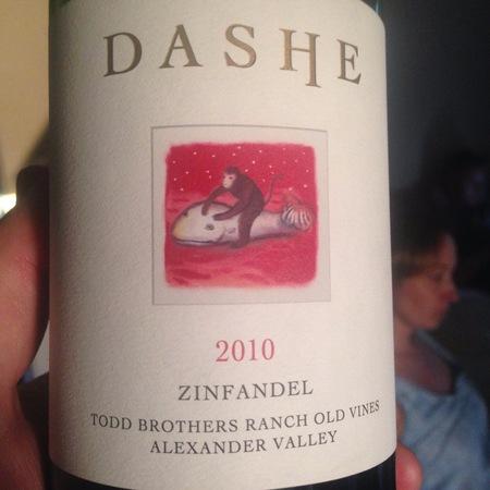 Dashe Cellars Todd Brothers Ranch Old Vines Zinfandel NV