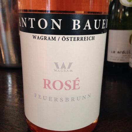 Anton Bauer Feuersbrunn Zweigelt Rosé  2016 (750ml 12bottle)
