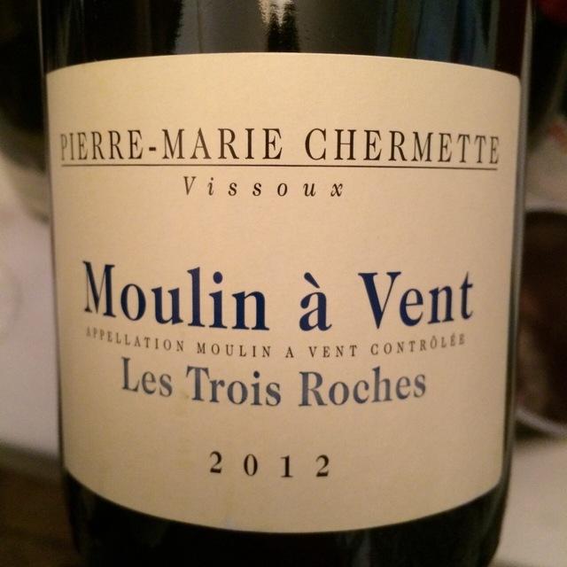 Les Trois Roches Moulin-à-Vent Gamay 2014