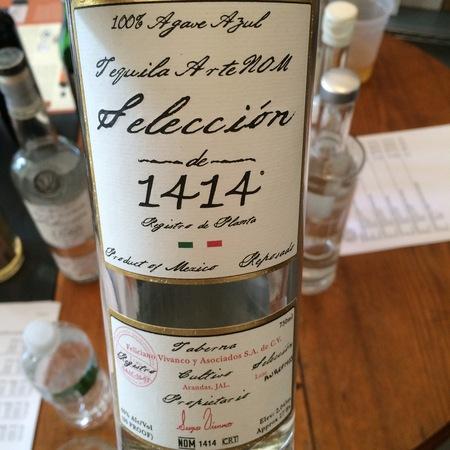 Tequila Artenom Seleccion 1414 Reposado Tequila NV