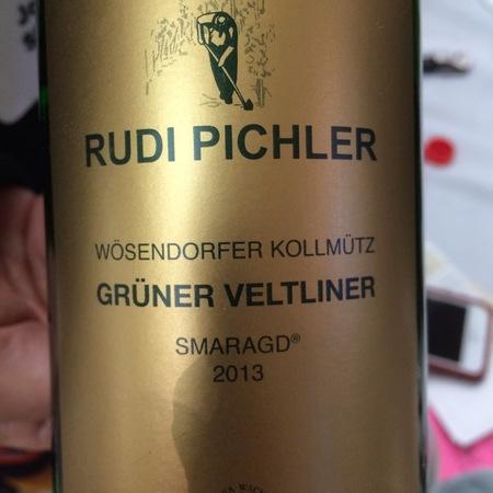 Rudi Pichler Wösendorfer Kollmütz Smaragd Grüner Veltliner 2013