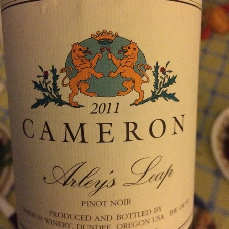Cameron Winery Arley's Leap Pinot Noir 2011