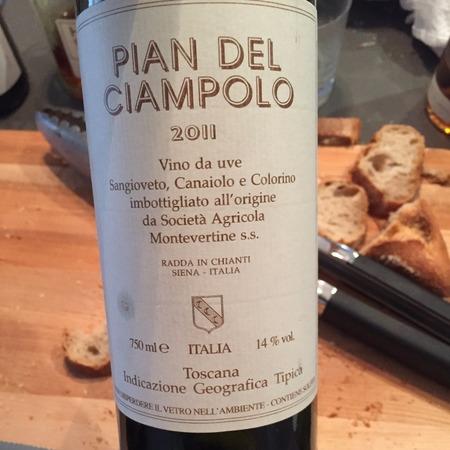Montevertine Pian del Ciampolo Toscana Super Tuscan Blend 2014