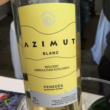 Cellers de Can Suriol del Castell Azimut Blanc Penedés Maccabeu Blend 2015