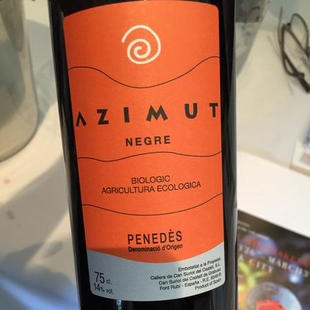 Cellers de Can Suriol del Castell Azimut Negre Red Blend 2013