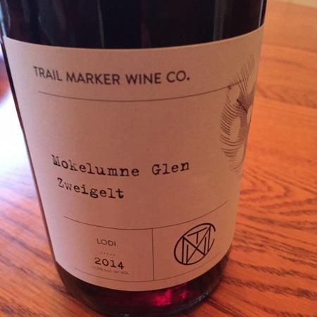 Trail Marker Wine Co. Mokelumne Glen Lodi Zweigelt 2015