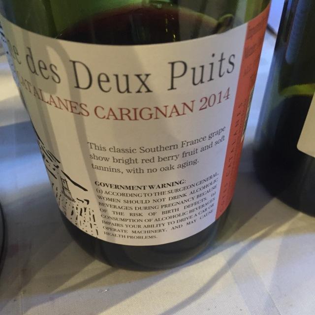 Côtes Catalanes Carignane 2014