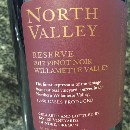 Soter Vineyards Reserve North Valley Pinot Noir 2014