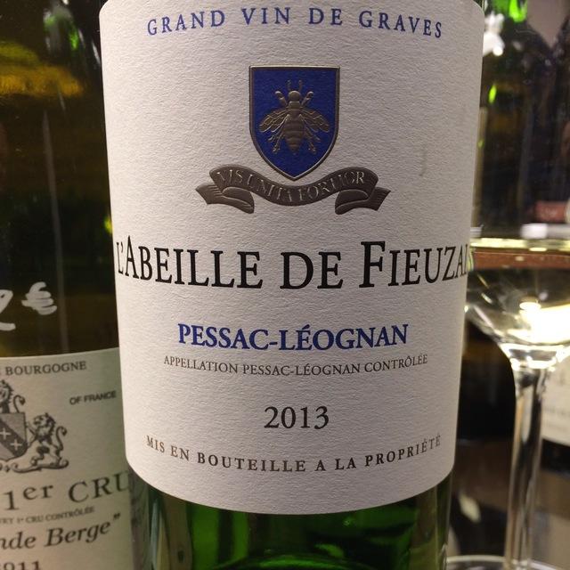L'Abeille de Fieuzal Pessac-Léognan Blanc  2013