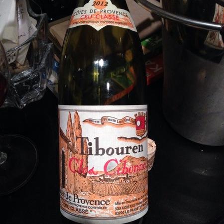 Cibonne Côtes de Provence Tibouren Rosé 2015