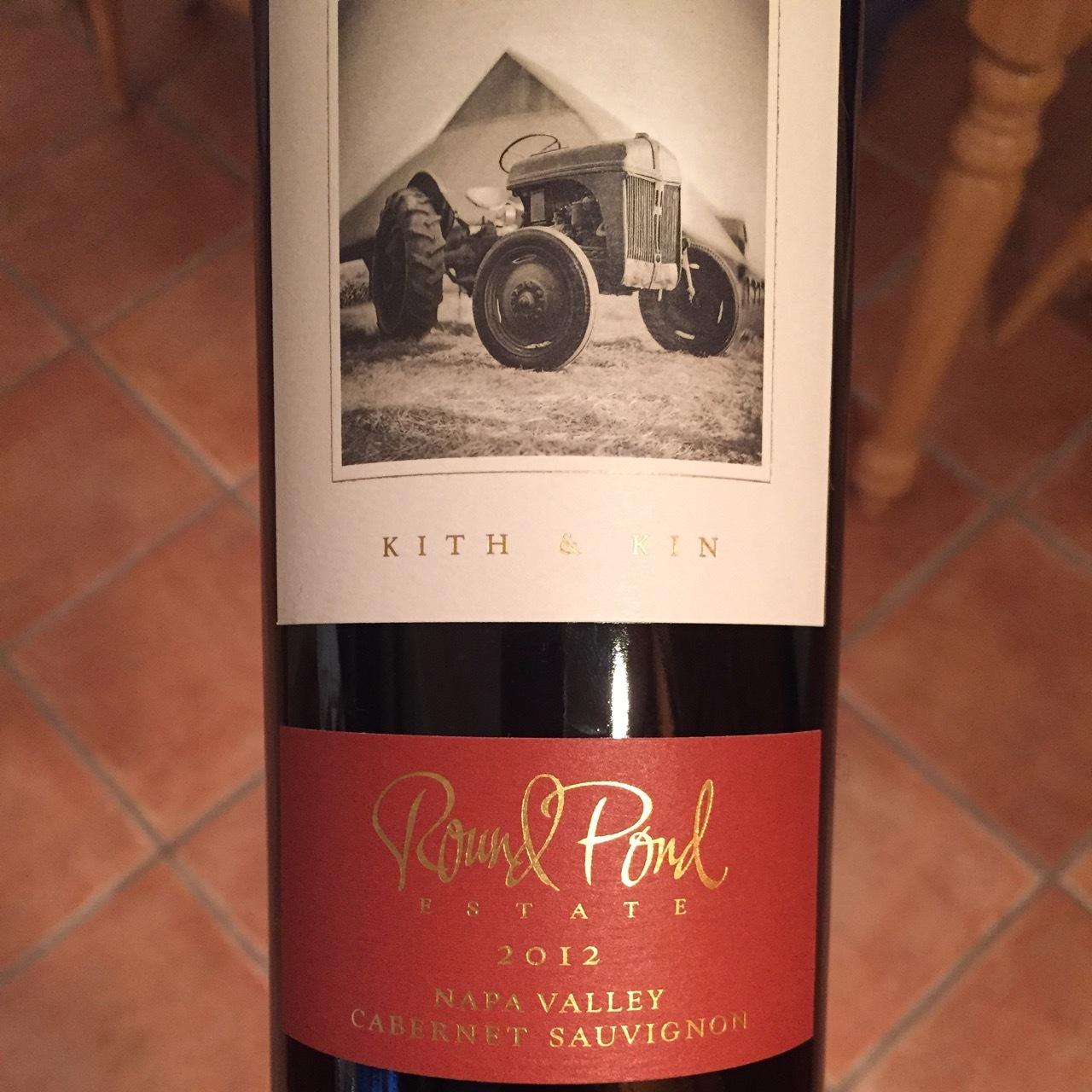 Round Pond Estate Kith & Kin Napa Valley Cabernet Sauvignon 2014