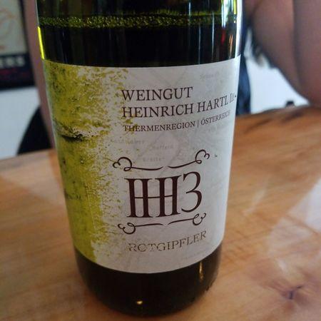 Weingut Heinrich Hartl III Thermenregion Rotgipfler 2015