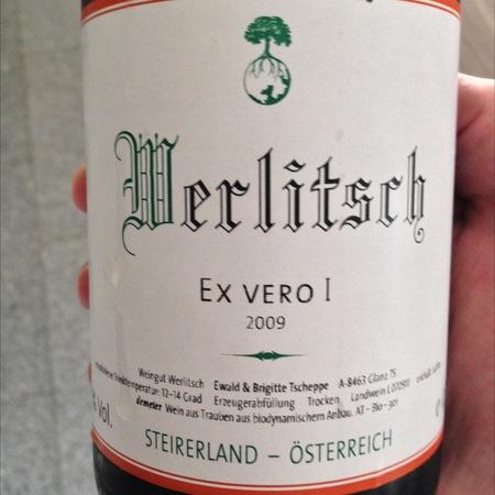 Ewald Tscheppe (Weingut Werlitsch)  Ewald Tscheppe (Weingut Werlitsch) Ex Vero II 2009