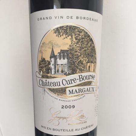 Château Cure-Bourse Margaux Red Bordeaux Blend 2009