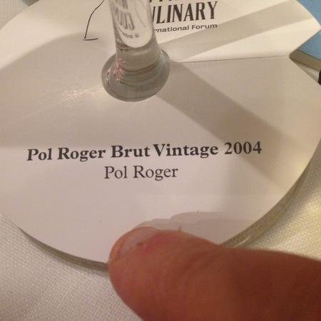 Pol Roger Brut Champagne Blend 2004
