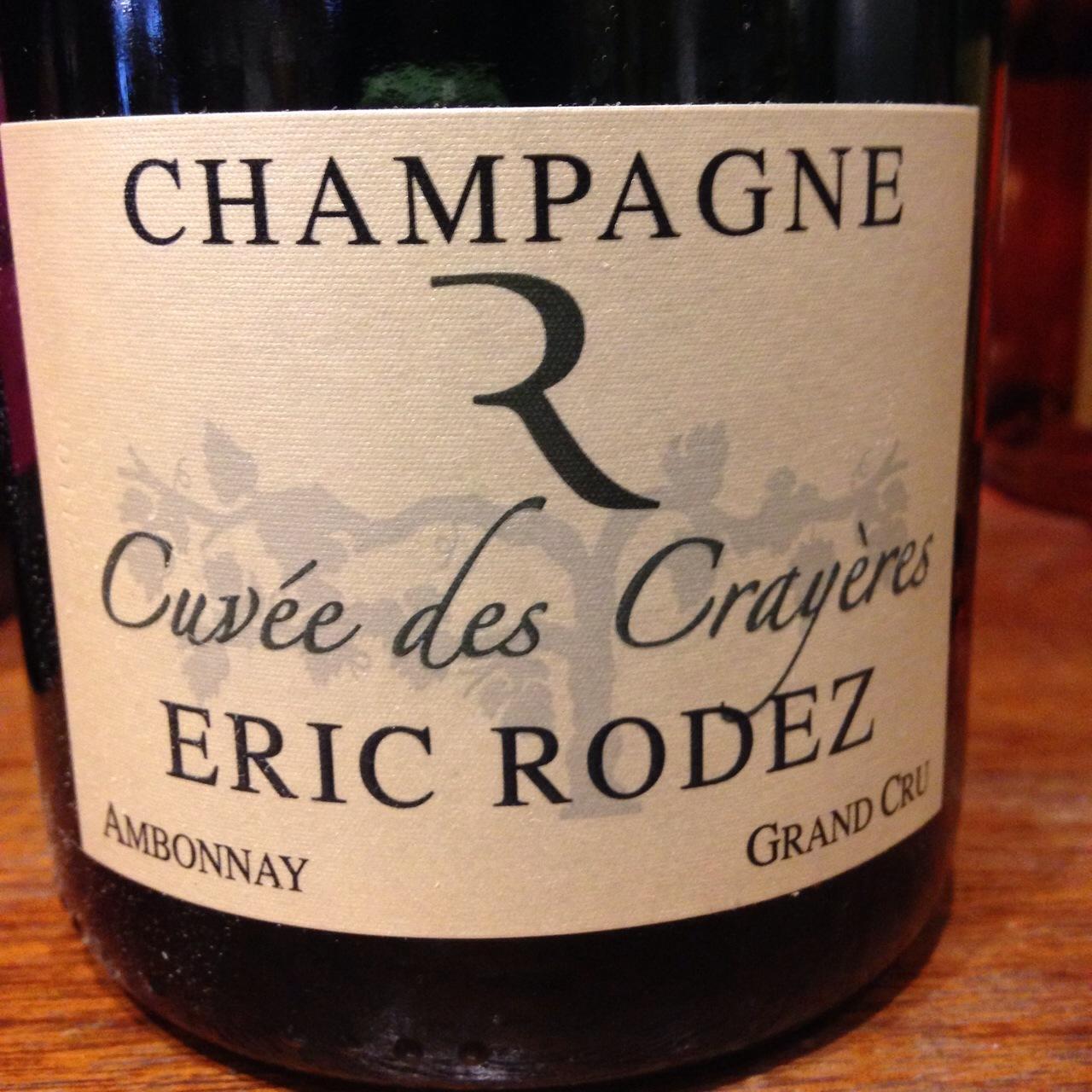 0e23cb796758 Eric Rodez Cuvée des Crayères Brut Grand Cru Champagne Chardonnay Pinot  Noir NV – Chain Bridge Cellars