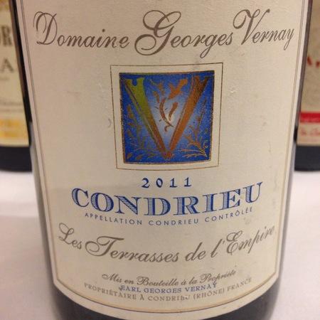 Domaine Georges Vernay Les Terrasses de l'Empire Condrieu Viognier 2015