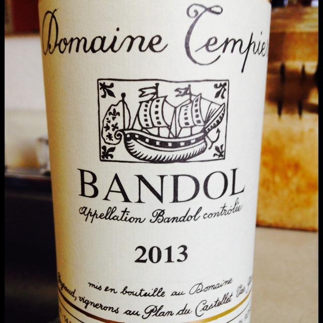 Bandol Mourvedre Rosé Blend 2015
