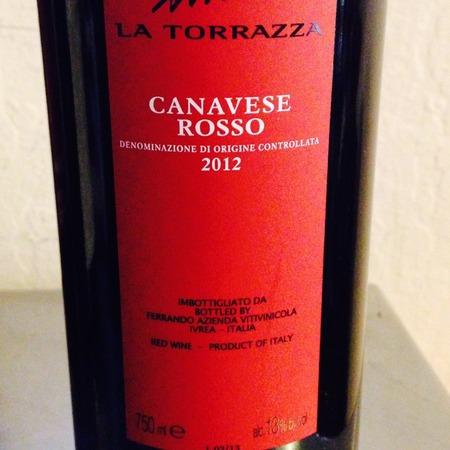 Ferrando Vini La Torrazza Canavese Rosso Nebbiolo Barbera 2012