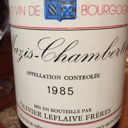 Olivier Leflaive Mazis-Chambertin Pinot Noir 1985