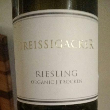 Weingut Dreissigacker Organic Trocken Riesling 2014