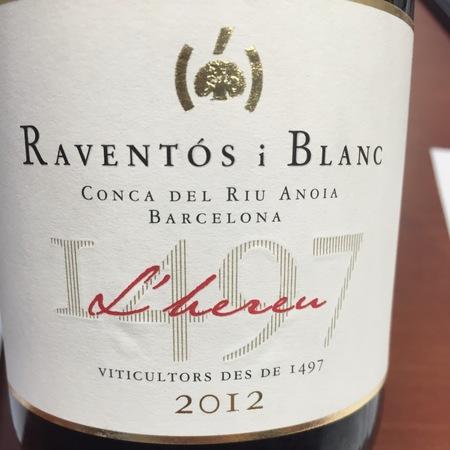 Raventos i Blanc L'hereu Conca del Riu Anoia Macabeo-Xarel-lo-Parellada 2013