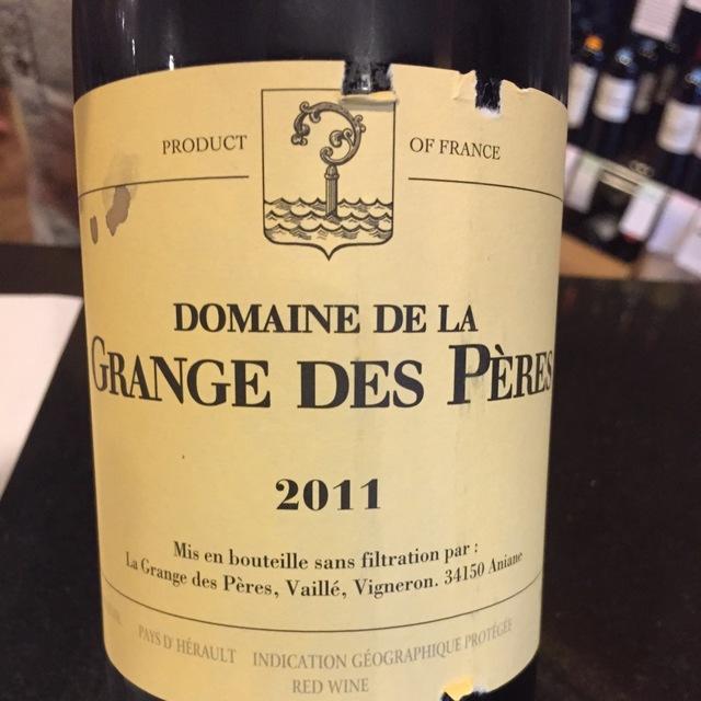 Vin de Pays de l'Hérault Red Rhone Blend 2011