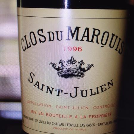 Château Léoville-Las Cases Clos du Marquis Saint-Julien Red Bordeaux Blend 1996