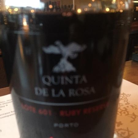 Quinta de la Rosa Ruby Reserve Lote 601 Porto Port Blend NV