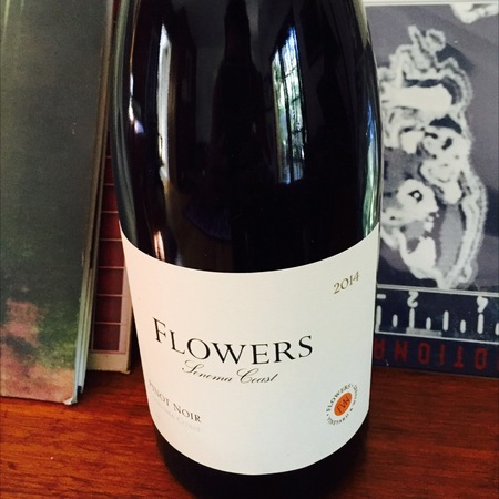 Flowers Vineyard & Winery Sonoma Coast Pinot Noir 2014