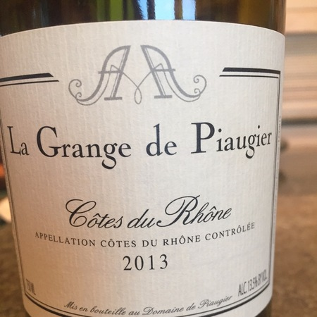 Domaine de Piaugier La Grange de Piaugier Côtes du Rhône 2015