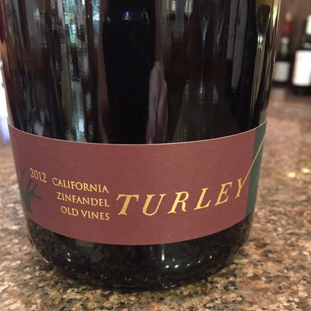 Turley Old Vines California Zinfandel 2015