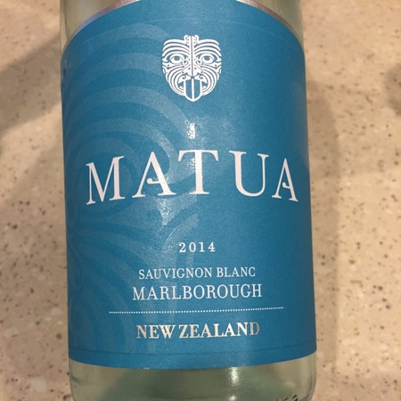 Matua Valley Wines Marlborough Sauvignon Blanc 2015
