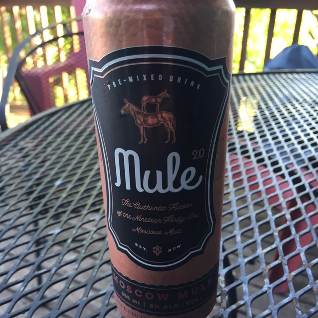 Pre-Mixed Drink Moscow Mule NV