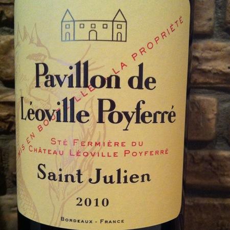 Château Léoville Poyferré Pavillon de Léoville Poyferré Saint Julien Red Bordeaux Blend 2014