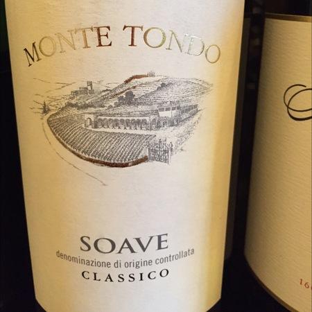 Monte Tondo Soave Classico Garganega 2014