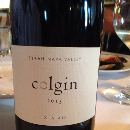 Colgin IX Estate Syrah 2013