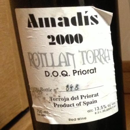 Rotllan Torra Tirant Priorat Grenache Blend 2000
