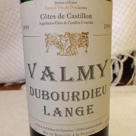 Château Chainchon Valmy Dubourdieu Lange Red Bordeaux Blend 2010