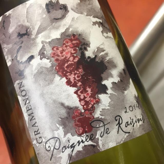 Poignee de Raisins Côtes du Rhône Grenache Blend  2014